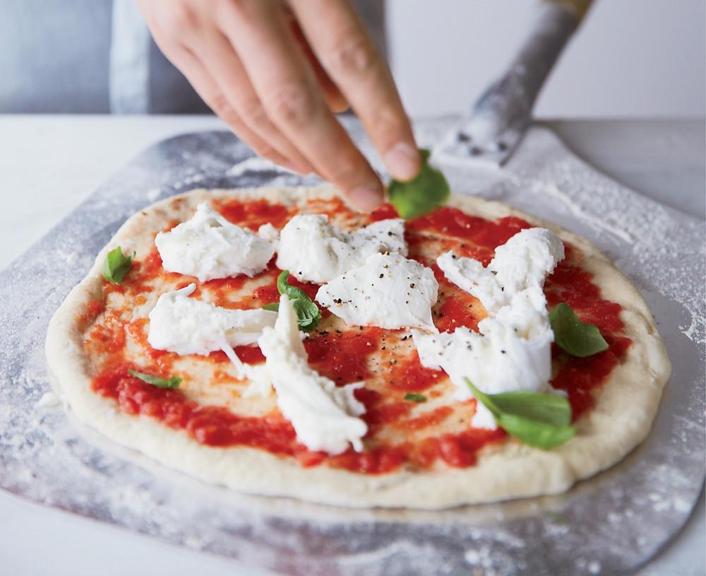 Food & Wine Margherita Pizza