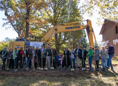 Village Hearth Cohousing Breaks Ground!