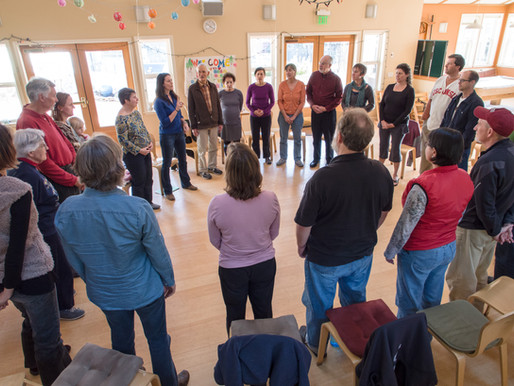 NC Cohousing Round, Photo by Tony Finner