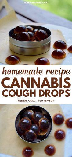 Homemade recipe for cannabis cough drops!