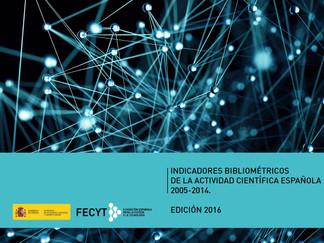 Indicadores Bibliométricos de la Actividad Científica Española (edición 2016)