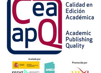 Convocatoria Sello de Calidad en edición  académica (CEA-APO)