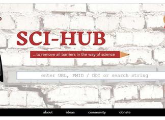 SCI - HUB: Más de 74.000.000 artículos científicos y creciendo