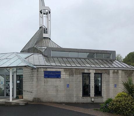 St Lukes Church Buckfastleigh - front of