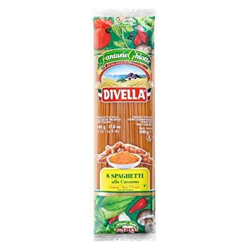 Spaghetti with Tumeric