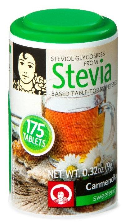 Stevia Based Table-Top Sweetener Tablets