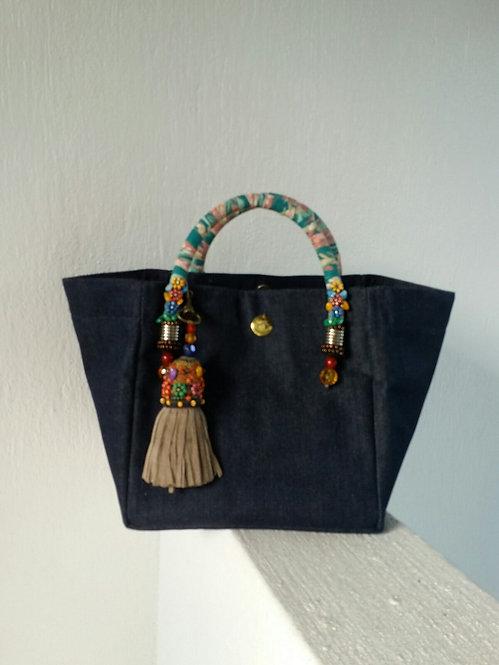 Plain Blue Bag