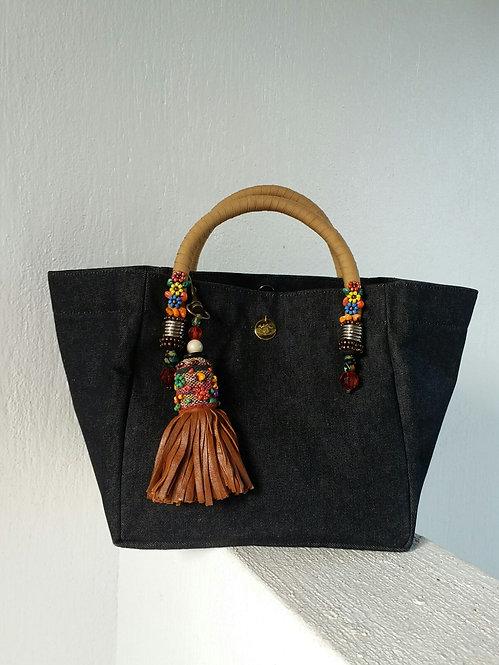 Small Plain Black Bag