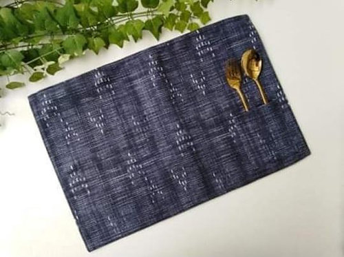 Placemats with Cutlery Holder Set 2