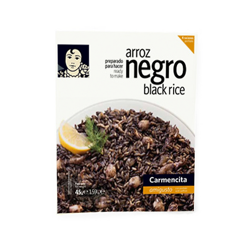 Black Rice with Saffron