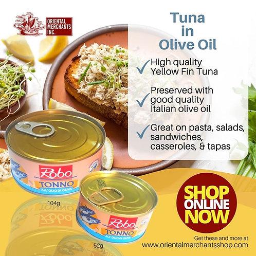 Yellowfin Tuna in Olive Oil