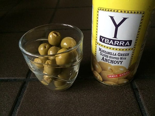 Manzanilla Green Olives Stuffed with Anchovy