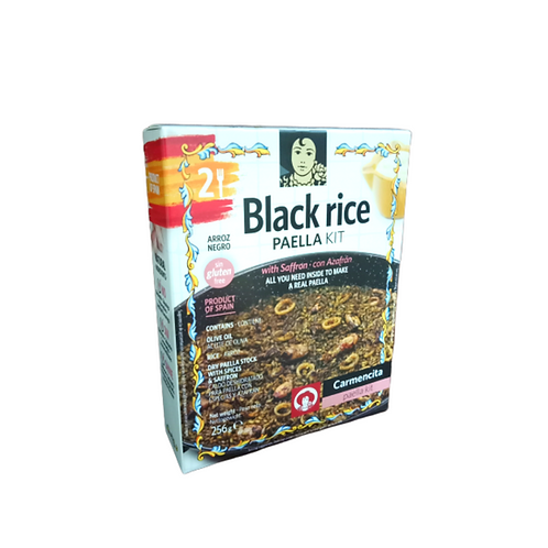 Black Rice Paella Kit