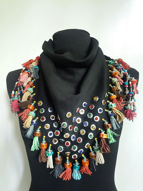All Scarf Necklace 4