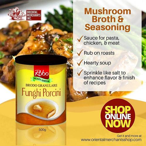 Mushroom Broth & Seasoning