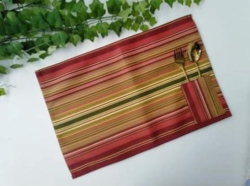 Placemats with Cutlery Holder Set 1