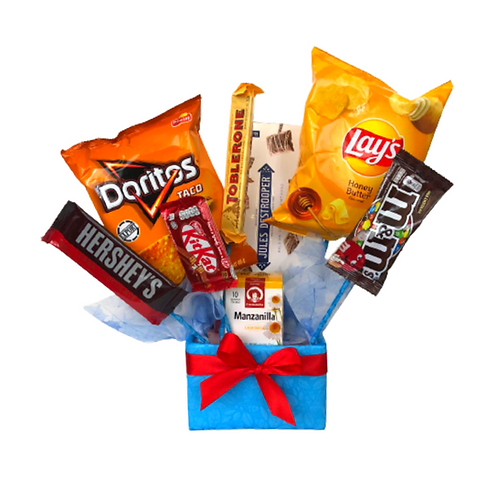 Snack Bouquet for Him