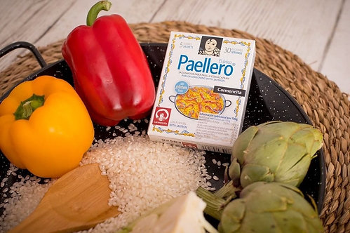 Paellero with Saffron