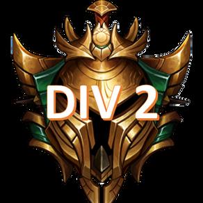 Week 6 Gold Power Rankings Divison 2