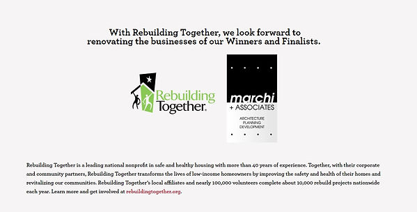 rebuilding togetherarchitecture, giving back, wells fargo, marchi-associates
