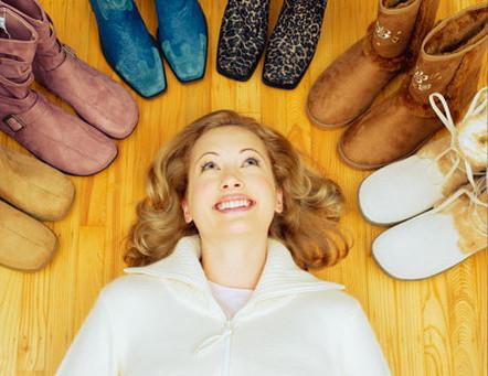 Правила ухода за замшевой обувью