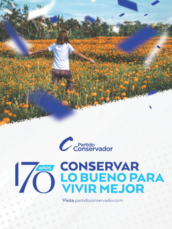 Partido Conservador - 170 años