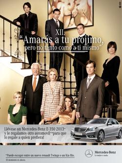Mercedes Benz Campaña
