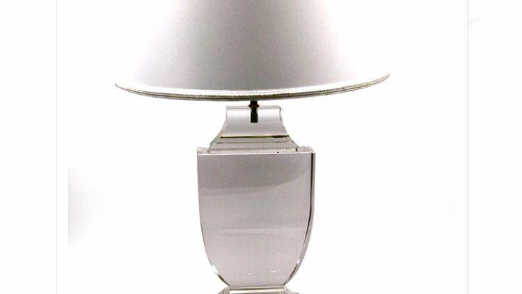 Lampada in cristallo Anfore cm 41