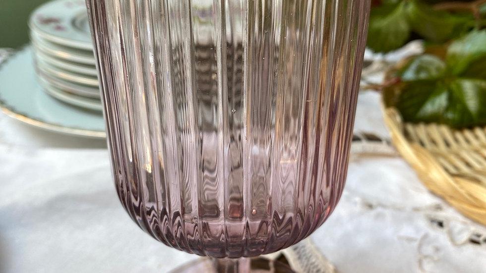 Bicchiere vino  millerighe prugna