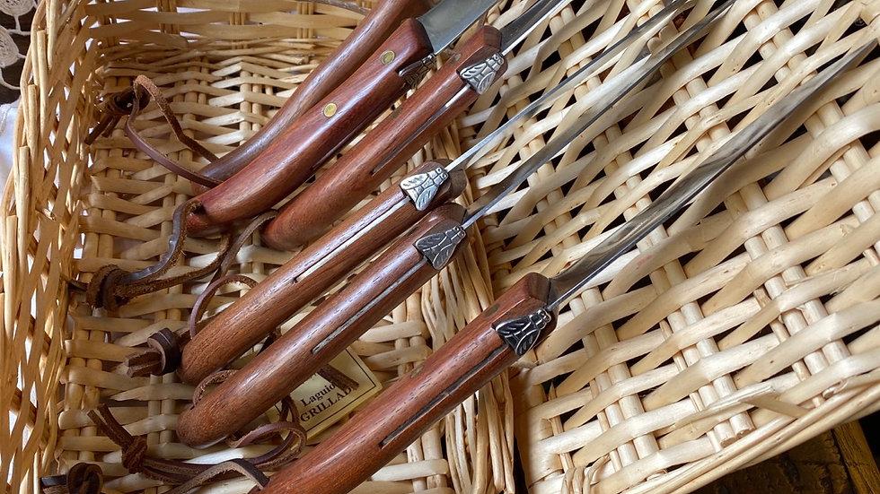 Set sei coltelli tavola Claude Dozorme Laguiole