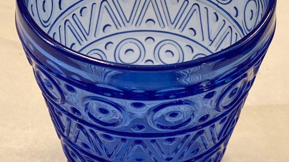 Sei Bicchieri blu