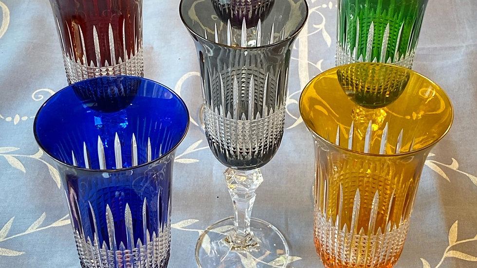 Set sei bicchieri flutes