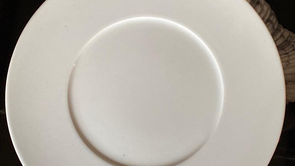 N. 6 Piatti piani cm 26,5 White