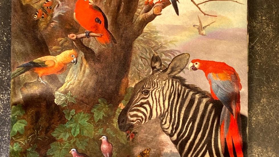 Trousse in velluto Zebre e compagnie
