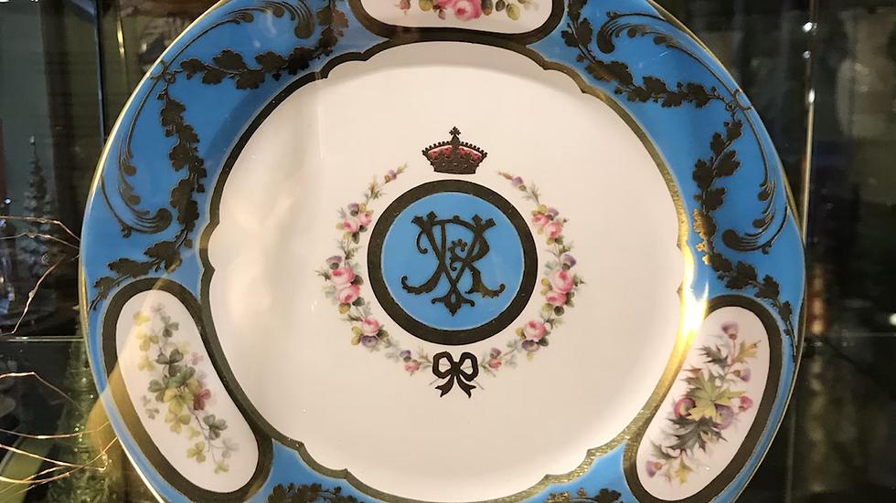 Piatto in latta della Royal Collection cm 26