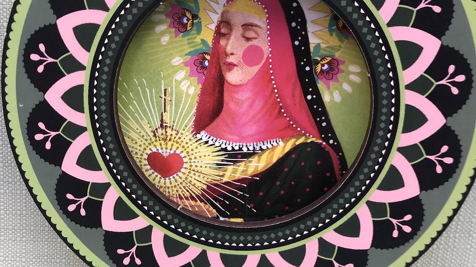 Miniatura Santa Chiara