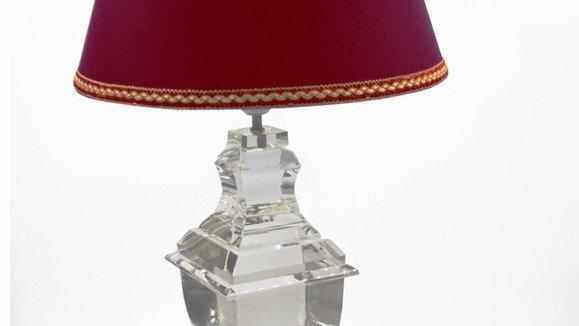 Lampada grande in cristallo cm 43