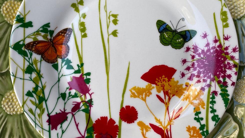 Piatto frutta Butterfly