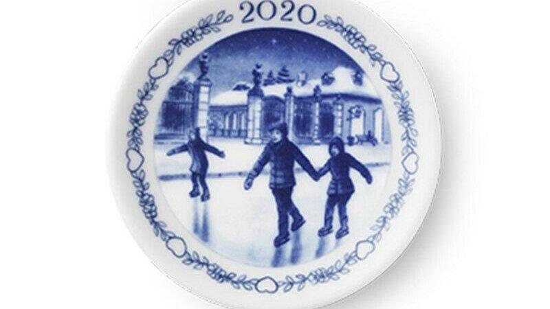 Plaquette Royal Copenhagen 2020