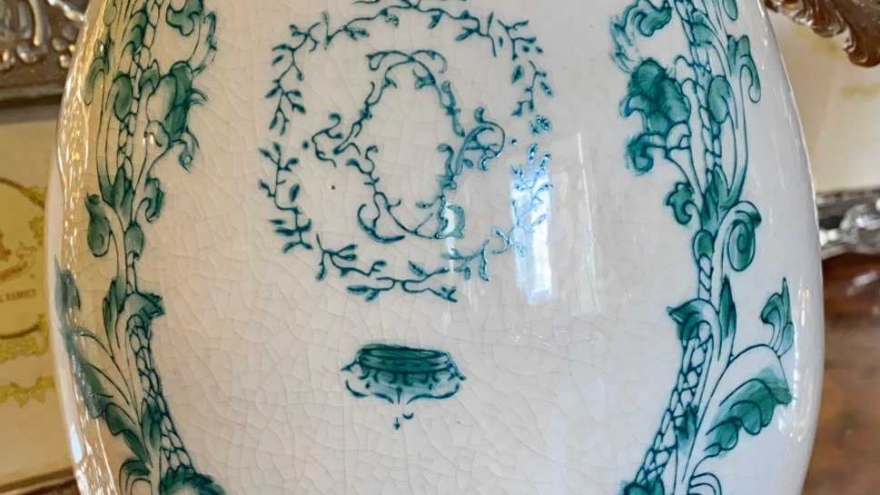 Uovo in ceramica cm 21