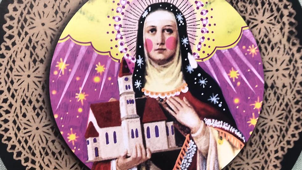 Santa Matilde patrona dei figli difficili e dei secondi matrimoni  cm21