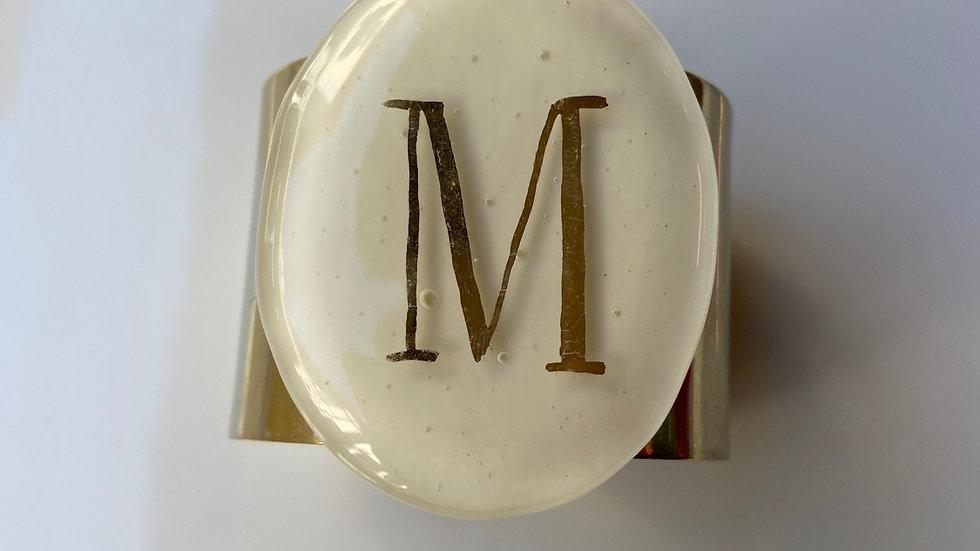 Bracciale in vetrofuso di Murano  M