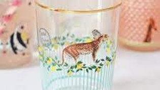 Bicchiere decorato Yvonne Ellen ghepardo