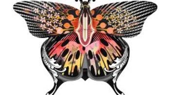 Farfalla Madame Butterly da parete