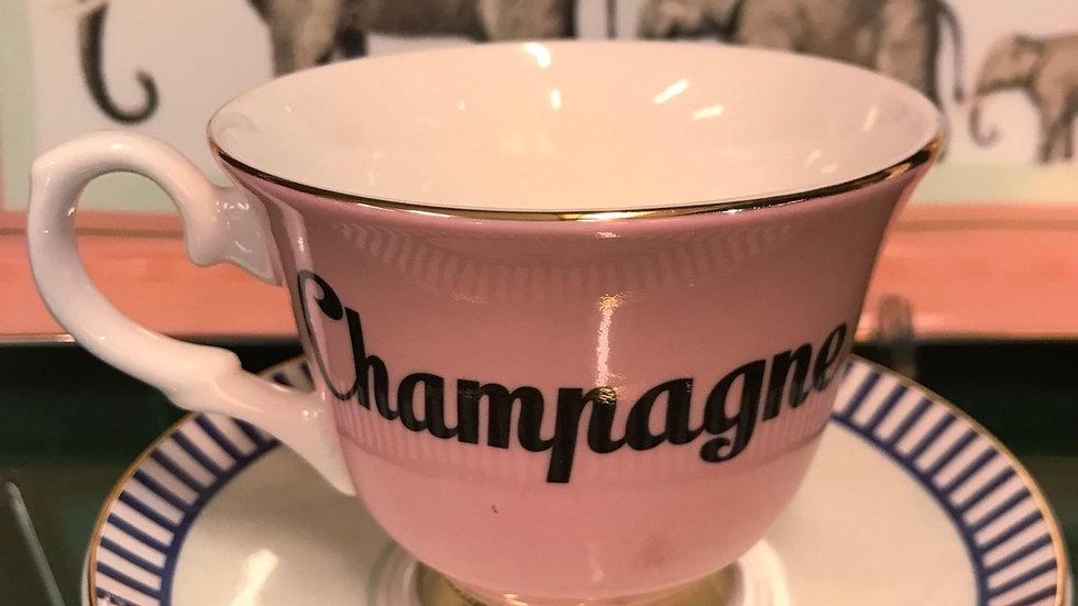 Tazza te Champagne