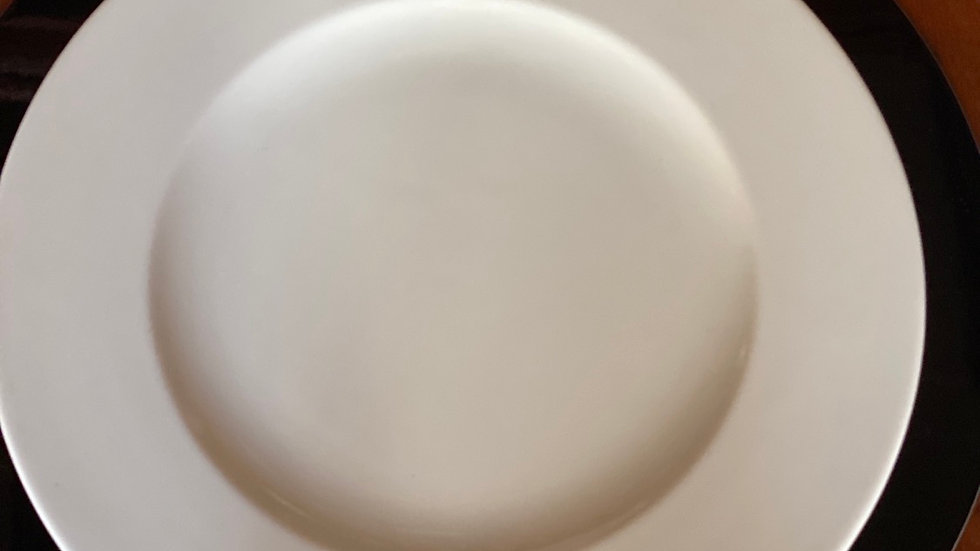 Piatto rotondo di portata White cm 33