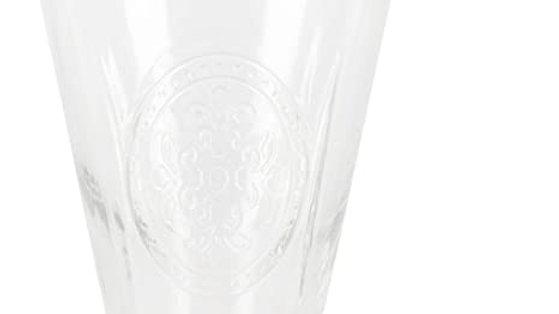 Bicchiere  in vetro con bollo