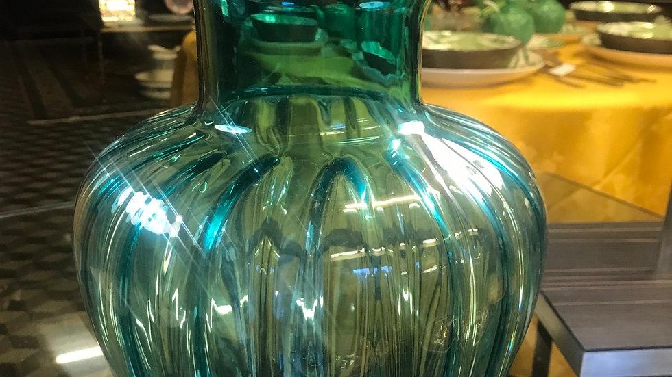 Vaso in Murano alt cm 29 diam 23