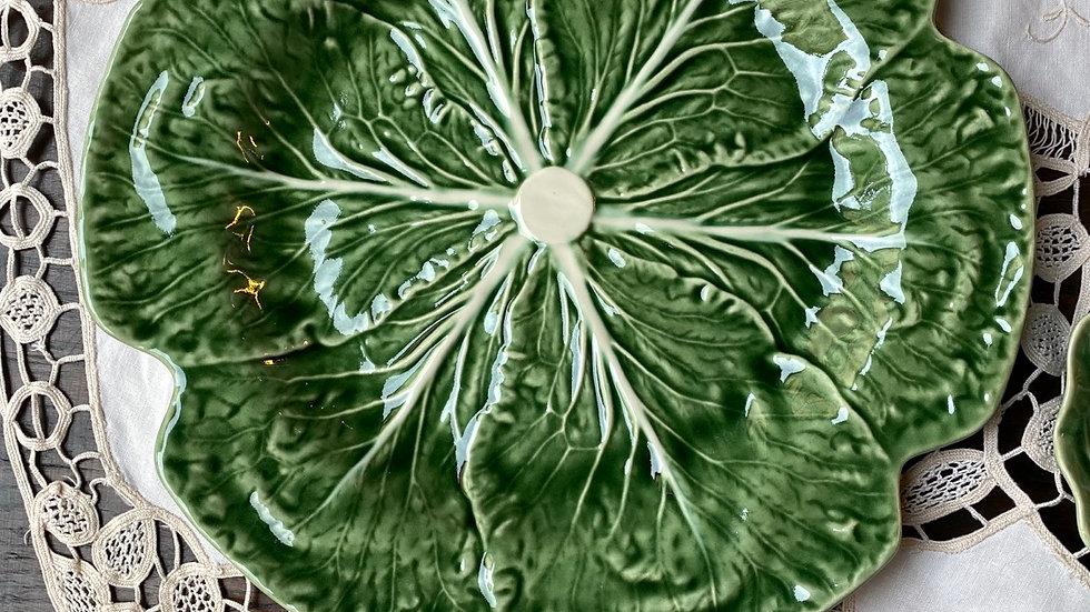 Sottopiatto  ceramica Couve verde
