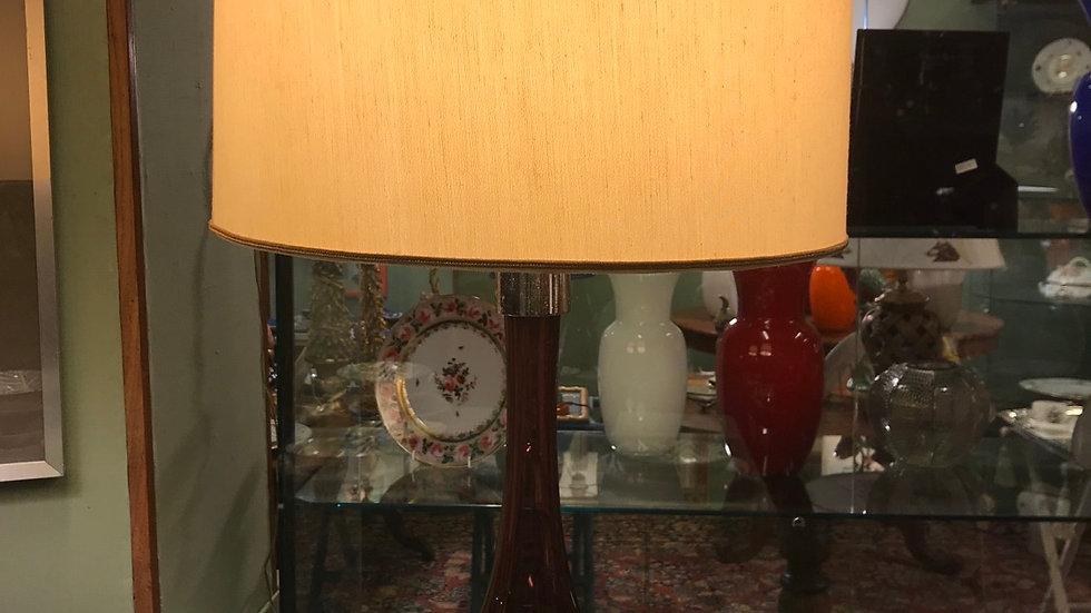 Lampada Murano  h cm 81 diametro 38